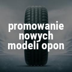 Promowanie nowych modeli opon Piła